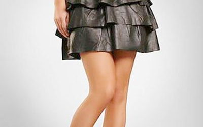 5 Leather Skirt Trends to Watch
