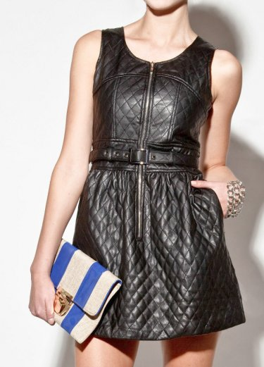 How to Rock a Leather Dress